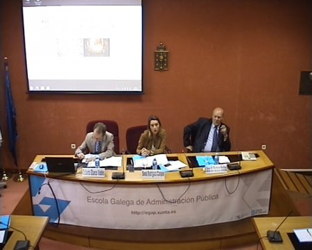 Inauguración da xornada Reforma da Constitución, reforma territorial: puntos de encontro